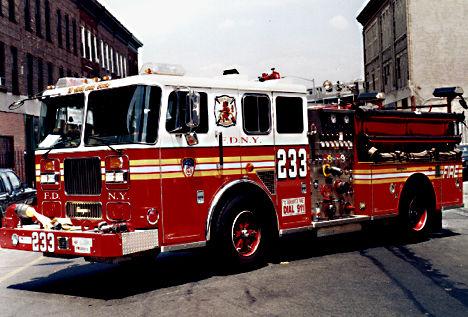 Kitchen of Engine 233 and Ladder 176. Photo By: Tim Keller