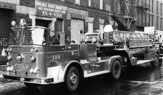 Ladder Company 108 Brooklyn Fdny